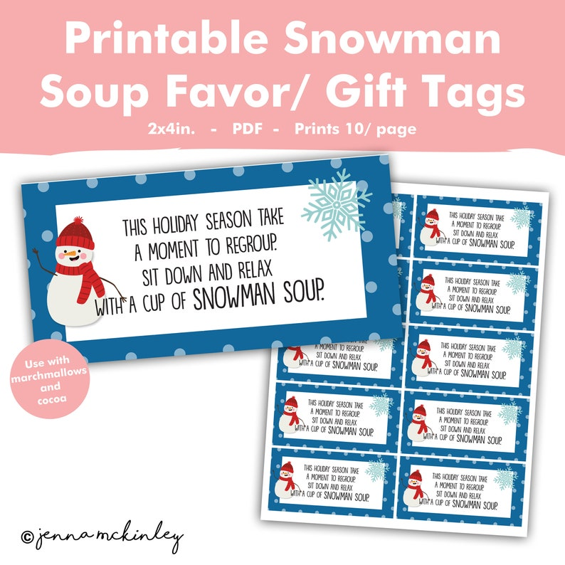 photograph relating to Snowman Soup Printable Tags referred to as Printable Snowman Soup Rhyme Very hot Cocoa Neighbor Coworker Buddy Scholar Clroom Trainer Reward Notion Tag Label Sticker Xmas Vacation
