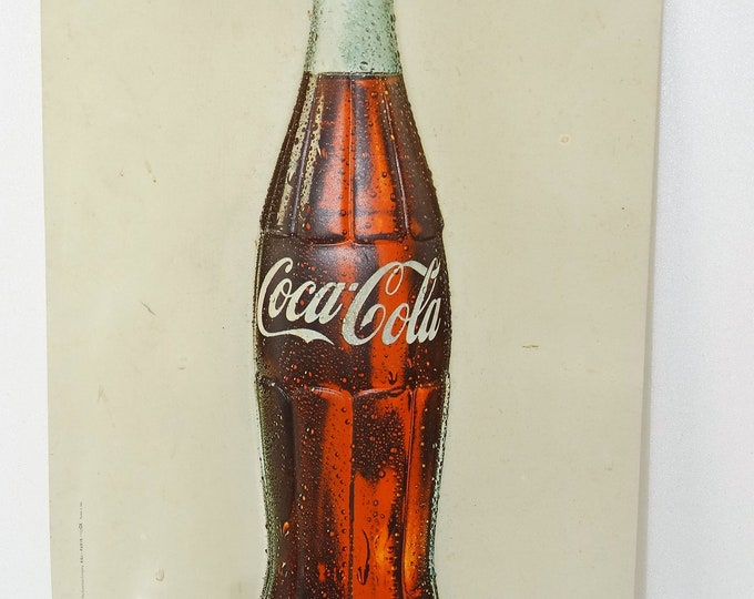 authentic COCA COLA vintage thermoformed plate