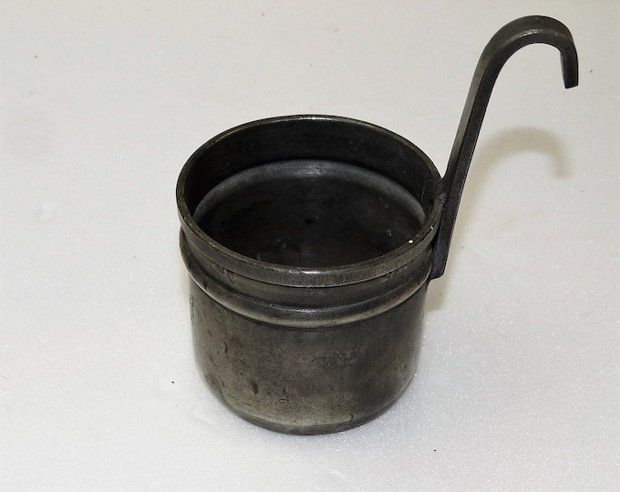 measure measure tin very nice state patina Etain handmade JG