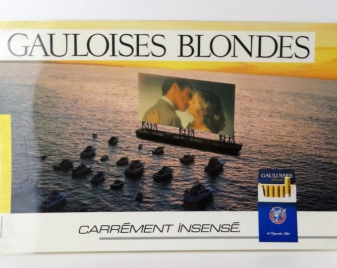 plate plastic blond Gallic advertising