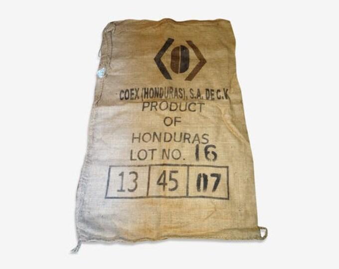 Burlap bag Indian honduras