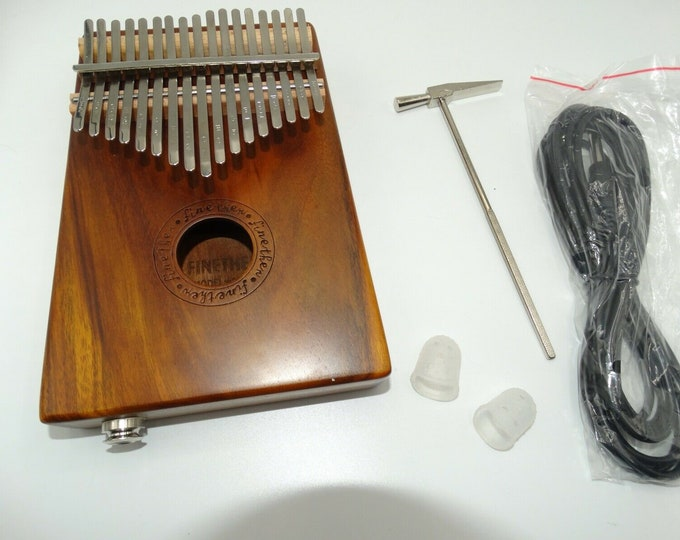 KALIMBA 17 islands keys piano a thumb new in its box with FINETHER invoice