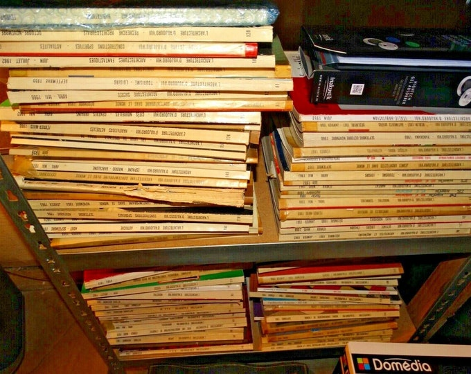 lot of JOURNALS ARCHITECTURE D TODAY old issues 50 70 a hundred , at possible retail