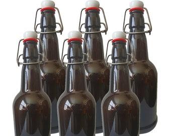 Soda Bottles 15Pc Dcolor Swing Top Glass Caps Caps Flip Top Beer Bottle Cap pour Swing Cap pour Grolsch Style Beer Bottle Beer
