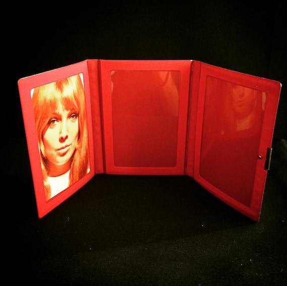 Pliable en plastique cadre photo photo cadre / photo album / vintage / fleur-puissance / hippie 671e20