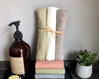 Set of 4, dishwasher, kitchen cloth, cleaning cloth - washable & reusable