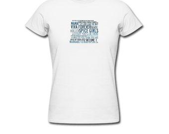 e55136e7bd9 Spice Girls - Lyric T-Shirt
