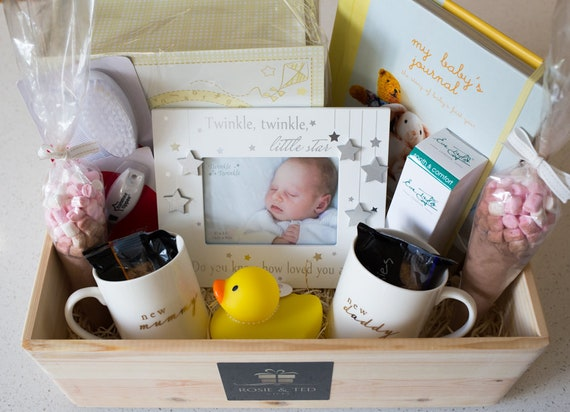 Luxury New Mum And Dad Gift Hamper New Parents Gifts For New Etsy