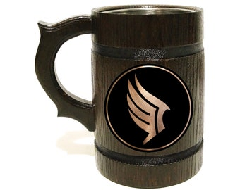 Renegade Beer Stein / Mass Effect Personalized Tankard