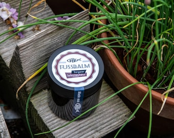 Foot balm | Foot balm | Feet | Dry skin | Foot care | Cream | Care | Ginger | Shea butter | Of course | [349]