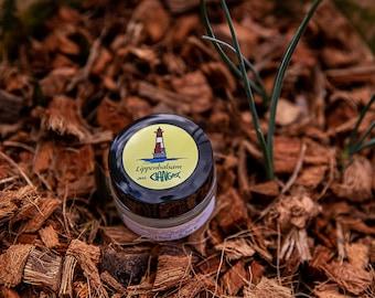 Lip Balm | Lip Gloss | Lemon | Glastiegel | Lip Care | Shea butter | Handmade | Handmade | Lemon Flavor | Cotton soap [374]