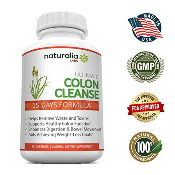 Colon Cleanse Detox Stool Softener Natural Ingredients Etsy