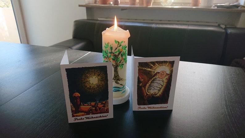 Die Weihnachtsgrußkarten