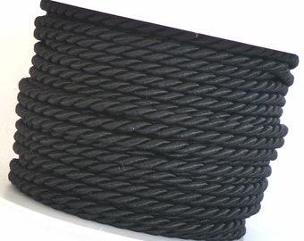 weinrot Drehkordel KORDELBAND Dekoband SCHNUR 1m//0,60€ KORDEL 10m x 6mm grün