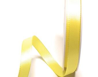 bucles banda 50m x 40mm blanco organza chifón dekoband regalo Band 1m//0, 18 €