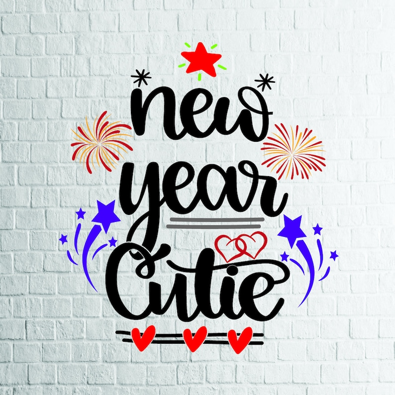 Buy 3 Get 1 Free New Year Cutie Svgnew Year Svg Valentine Etsy