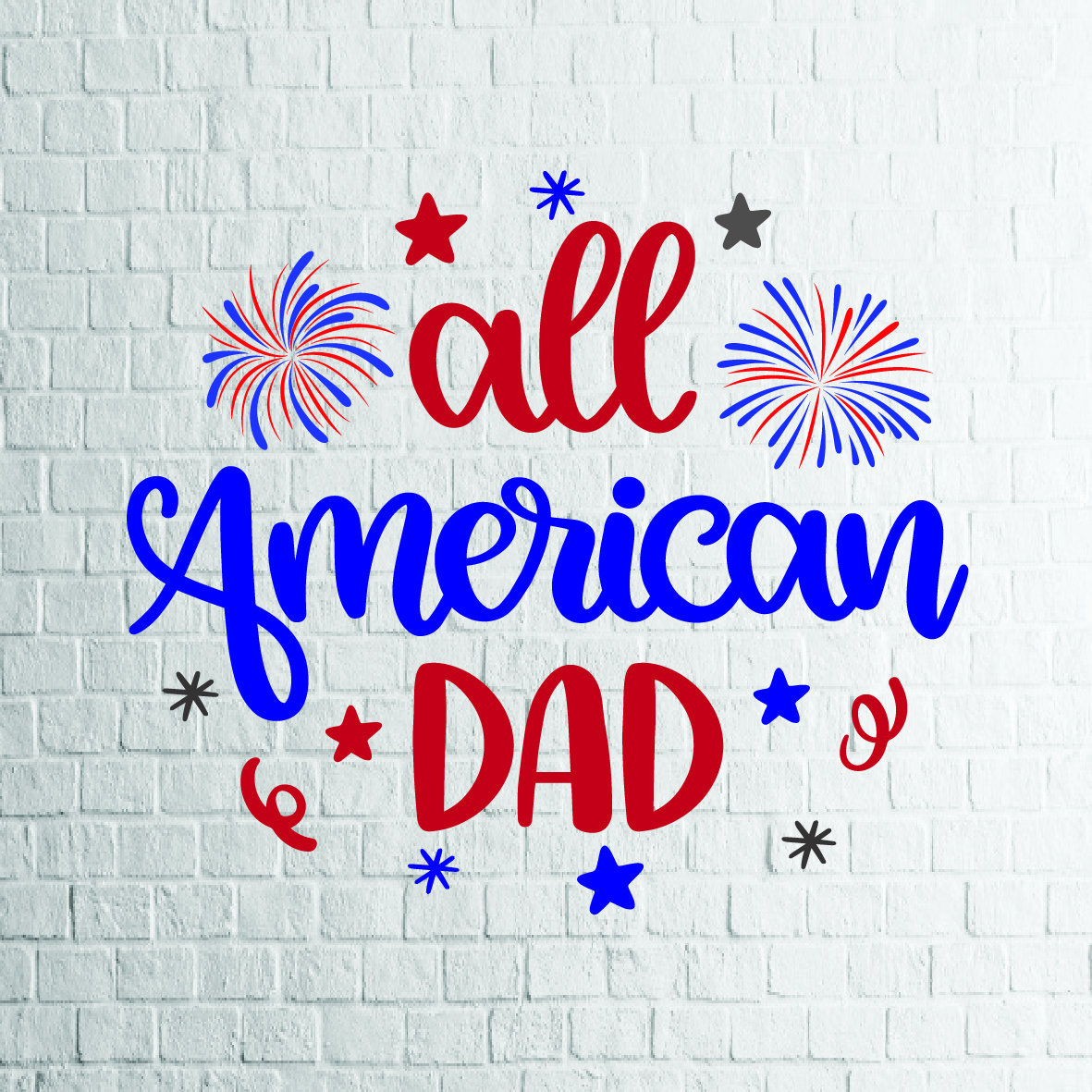 Buy 3 Get 1 Free All American Dad Svg 4th Of July Svg Etsy