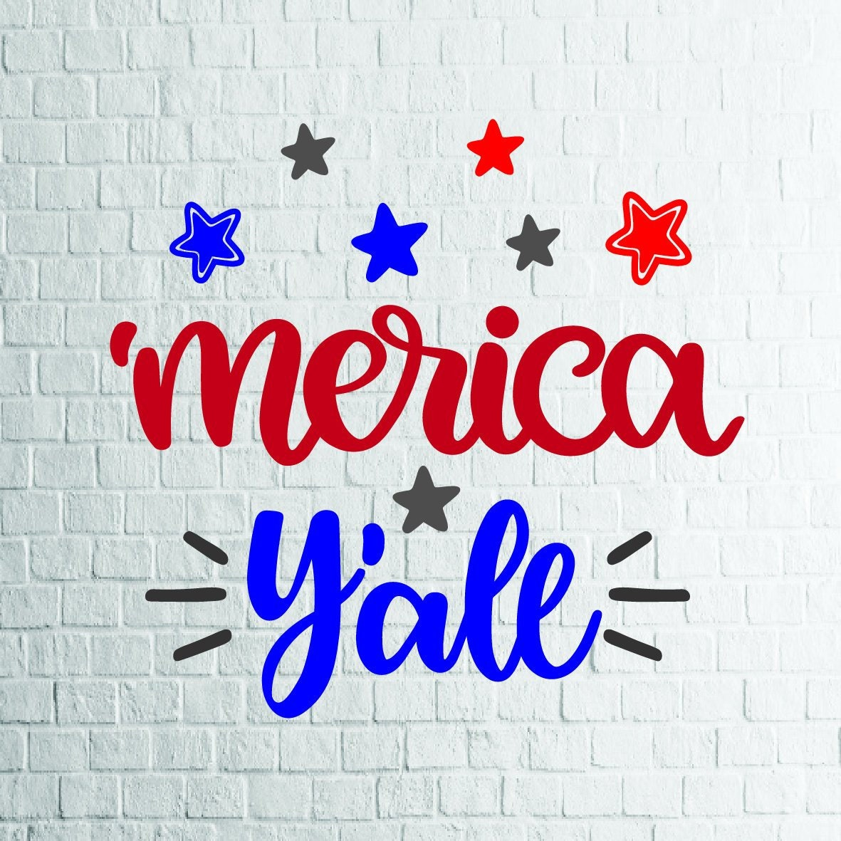 Buy 3 Get 1 Free Merica Y All Star 1 Svg 4th Of Etsy