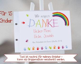 Abschiedsgeschenk Album Grundschule Für Lehrer Etsy