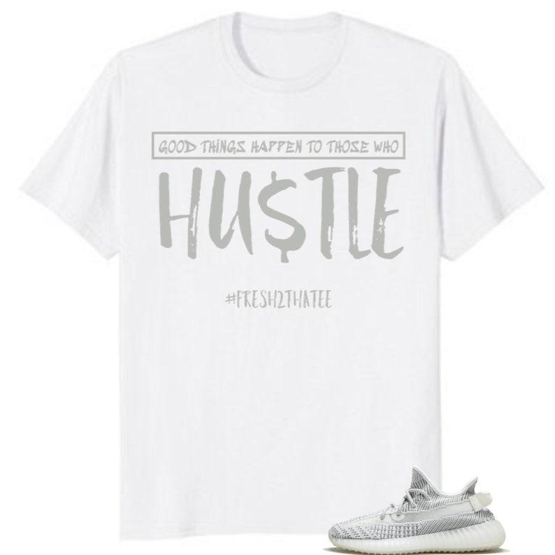 2b8e6321eb675 hustle shirt made to match: adidas Yeezy Boost 350 V2 Static