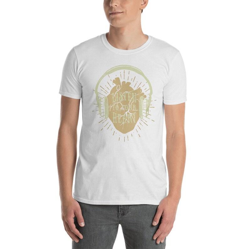 8dca902598d4a adidas yeezy boost 350 v2 butter shirt (listen to your heart )