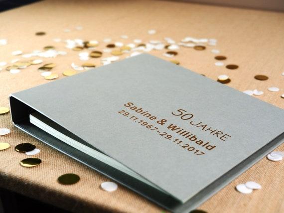 Hochzeits Gästebuch Für Goldene Hochzeit Mit Fragen