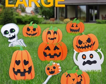 outdoor halloween decorations etsy