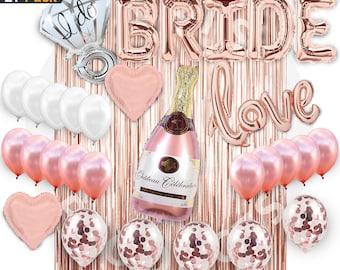 281558f63c Bridal Showe Bachelorette Party Decorations Rose Gold – 1 Fringe Curtain