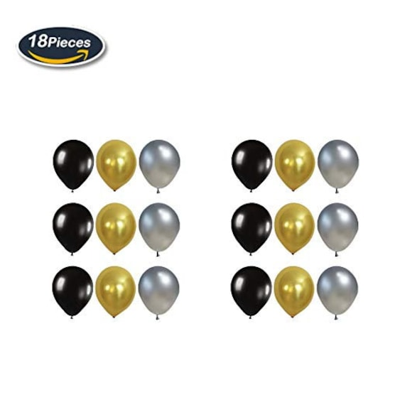 65TH Birthday Party Decorations Black Happy Banner