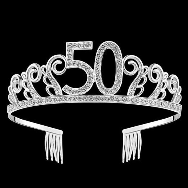 Crystal Tiara Birthday Crown Princess Crown Hair Accessories  19eeb73a5367