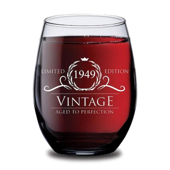 1949 70th Birthday Gifts Men Women Beer Glass 16oz Vintage