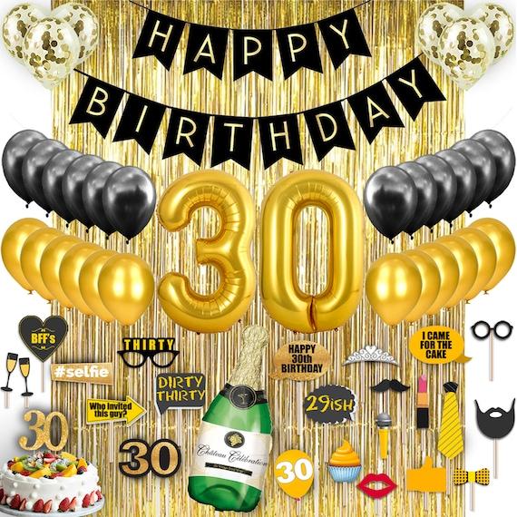 Phenomenal 30Th Birthday Decorations Her Him Men Women Dirty 30 Birthday Etsy Birthday Cards Printable Giouspongecafe Filternl