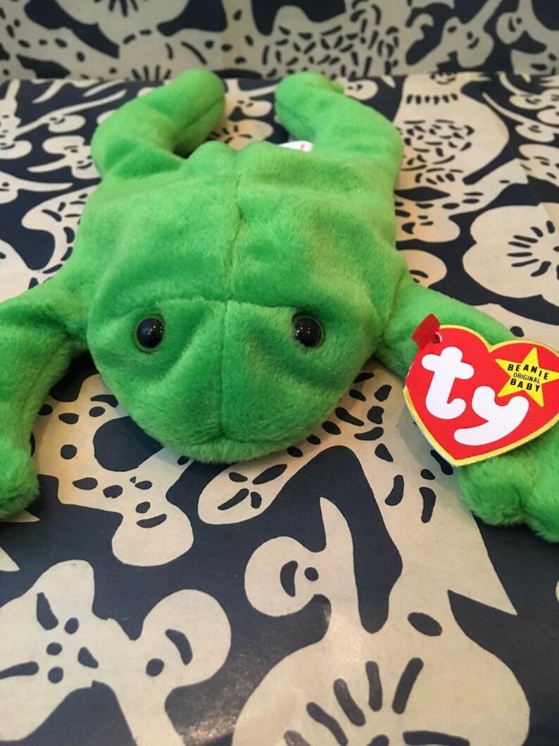 LEGS Beanie Baby Frog  bbb7a1cdb3ae