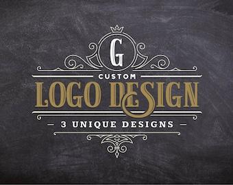 Logo Design Custom Business Brand Signature Elegant Creative Branding Creation Modern