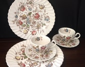Staffordshire Bouquet dining set by Johnson Bros