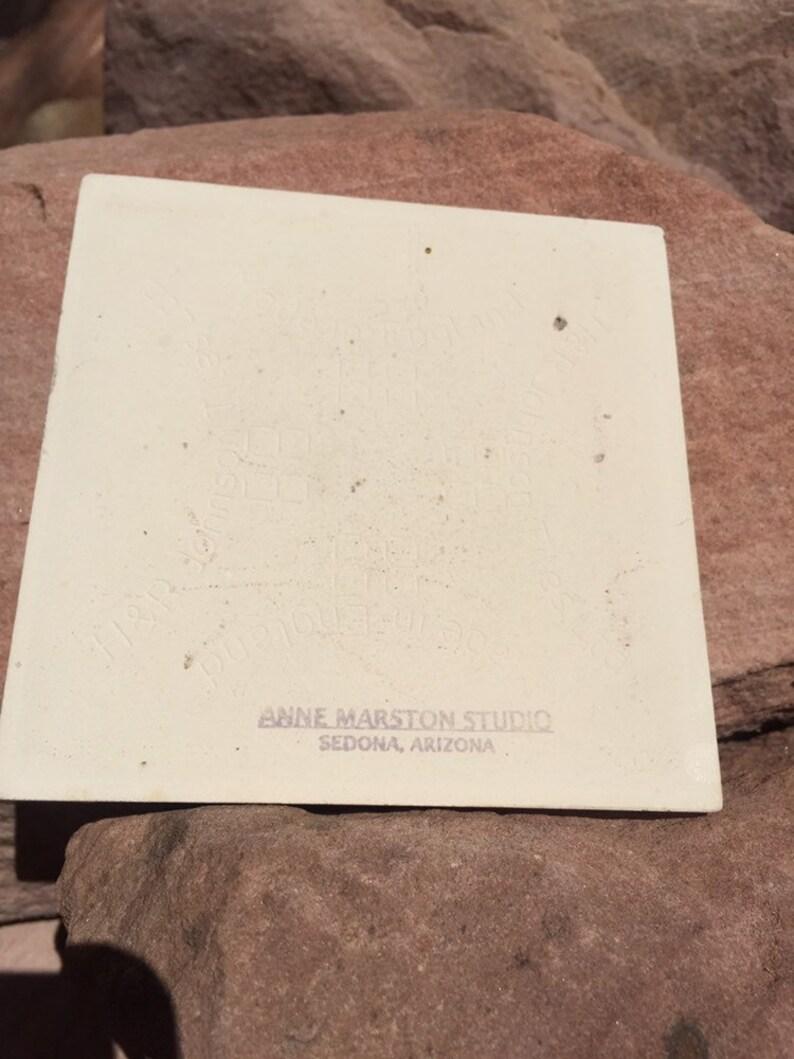 Sedona art tile Venus or Mother Earth