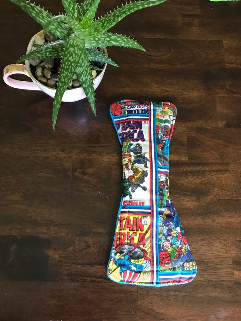 Comic book themed cloth pad set *MADE TO ORDER*