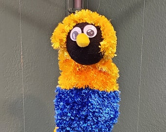 Marionette Puppet Handcrafted Fuzzy Friend