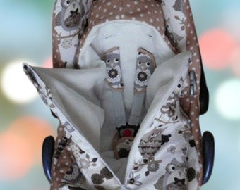 STOFFWAHL: Foot bag for the baby carrier