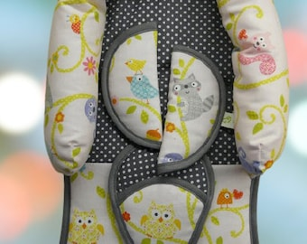 FREE STOFFWAHL: Seat reducer and belt saver Maxi Cosi baby carrier