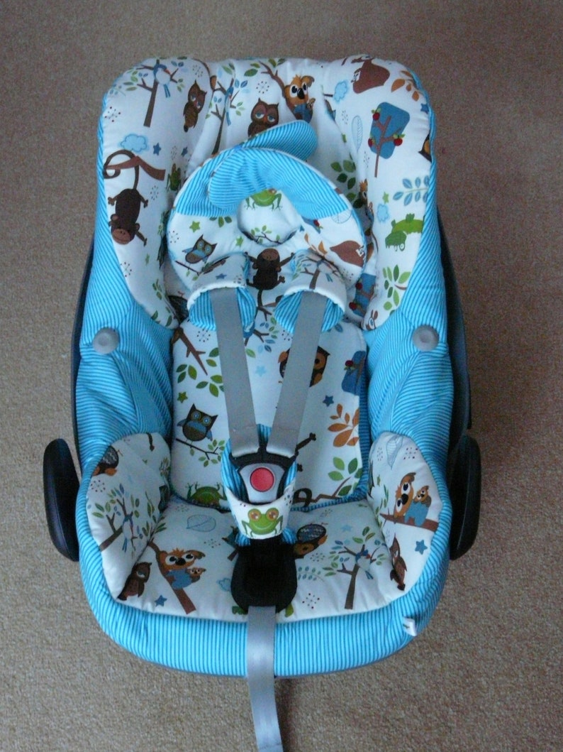 Replacement Seat Cover to fit Maxi COSI Pebble 0 Blue car seat
