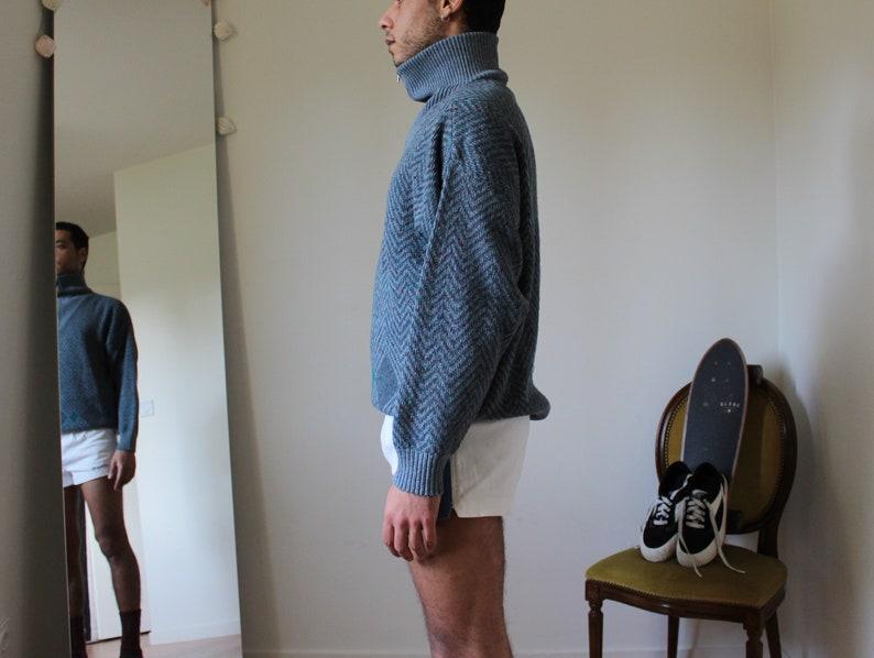 vintage menvintage pullover mens pulloversweater winterwinter sweater  mens vintageprinted jumpervintage clothes