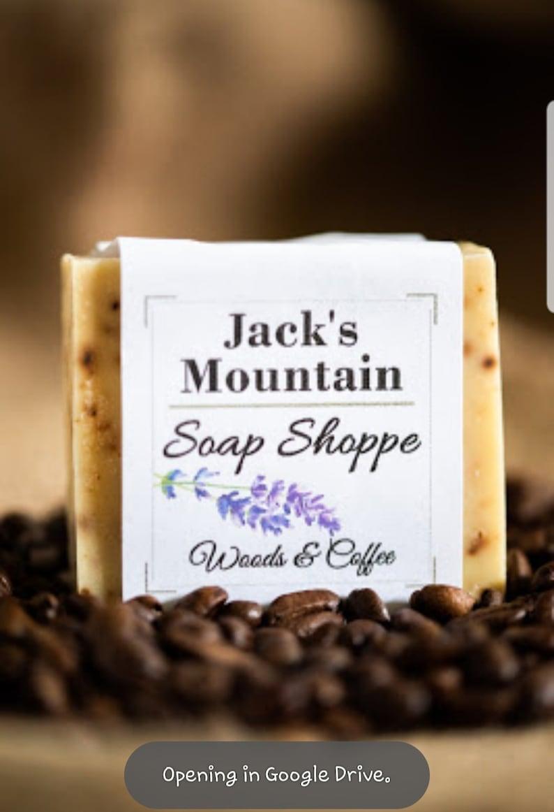 Masculine Guy Soap - Jacks Mountain Soap Shoppe - Gifts for Grandfathers -  Men's Gift Soap - Mountain Man Cedarwood Soap - Cabin Fever Soap