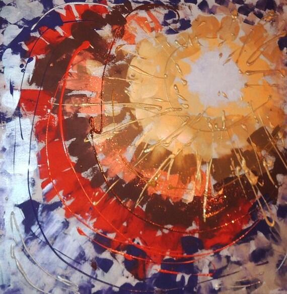Abstrakte Moderne Kunst Gemalde Bilder Leinwand Etsy