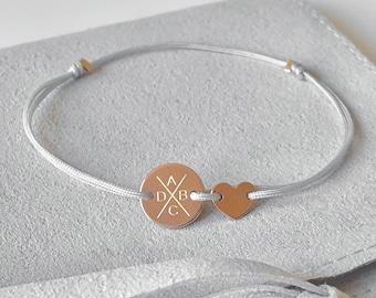 Bracelet customizable customizable friendship bracelet engraving family bracelet family bracelet engraving plate nylon gift nylon