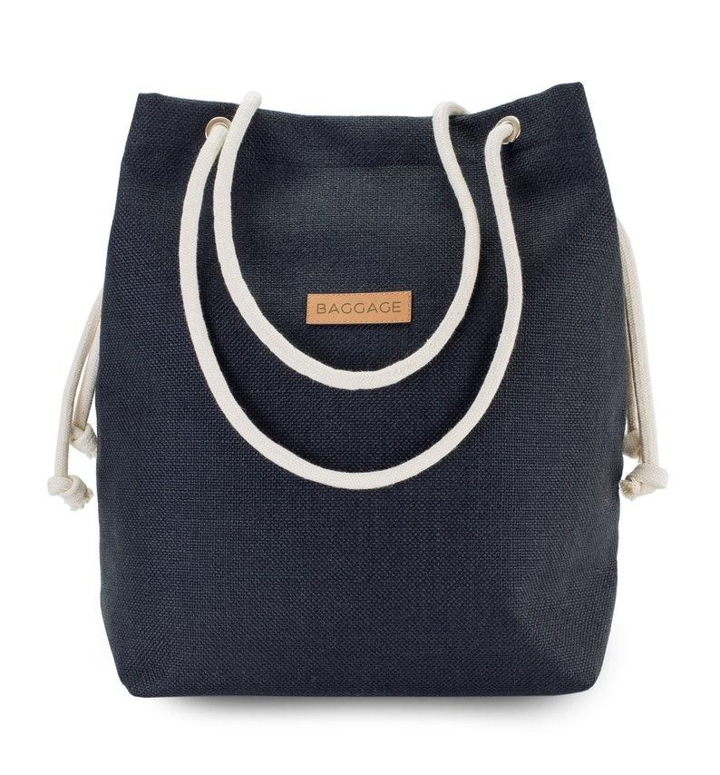 455f060045228 Torebka Worek Czarna Torba Baggage Shopper