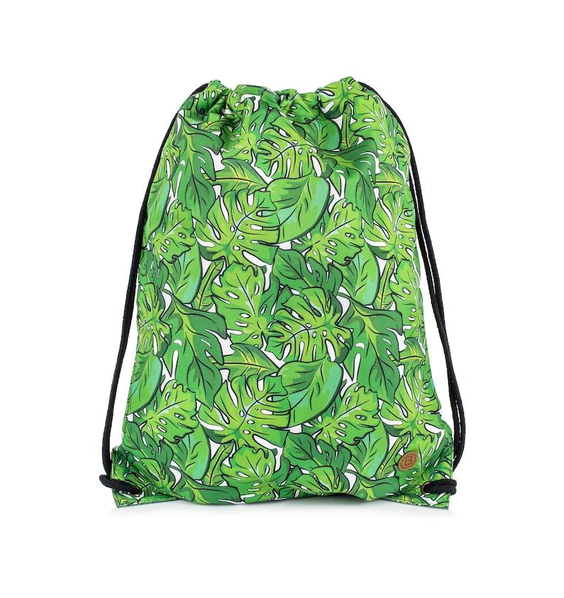 Backpack bag Palms Jungle sack leaves