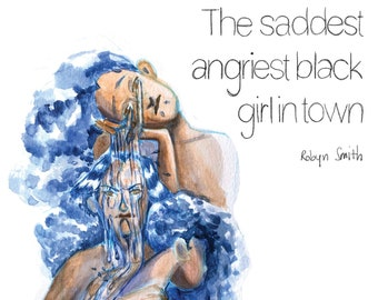 The Saddest Angriest Black Girl in Town Digital Comic Book