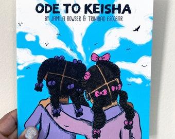 Ode to Keisha Print Comic