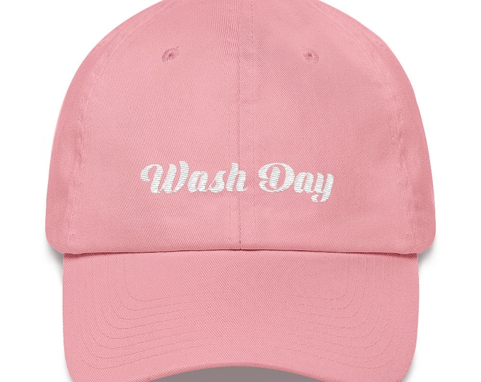 Wash Day dad hat